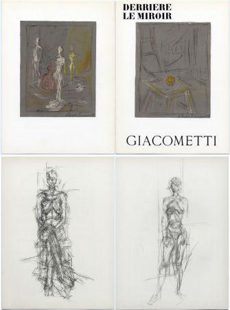 Libro Illustrato Giacometti - Derrière le Miroir n° 65 . GIACOMETTI . Mai 1954.