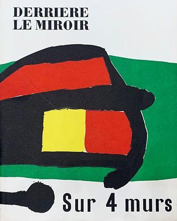 Libro Illustrato Miró - Derrière le Miroir, No 107-108-109 : Sur 4 Murs