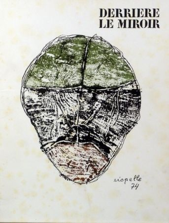 Libro Illustrato Riopelle - Derriere le Miroir n.208