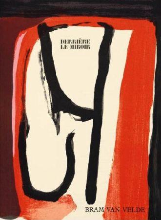 Libro Illustrato Van Velde -  Derriere Le Miroir N°240