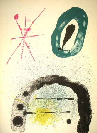 Libro Illustrato Miró - Derriere le Miroir n. 139/140