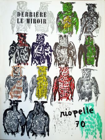 Libro Illustrato Riopelle - Derriere le Miroir n. 185