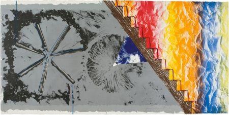 Litografia Rosenquist - DERRIERE L'ETOILE