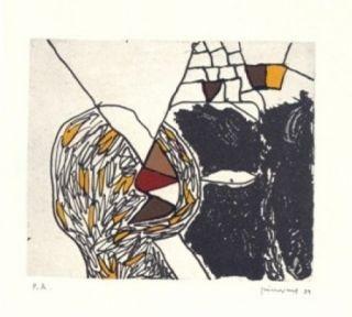 Incisione Guinovart - Des De Loca-Marge