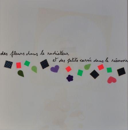 Litografia Baj - Des Fluers Dans Le Radiateur