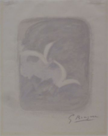 Litografia Braque - Descente aux enfers planche 1
