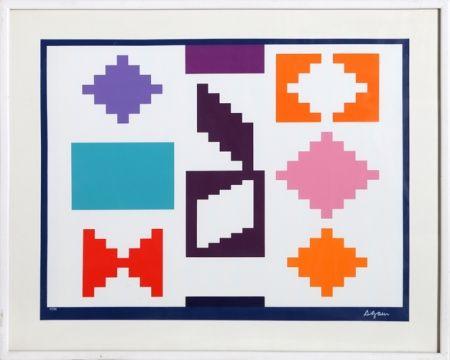 Serigrafia Agam - Design Iv