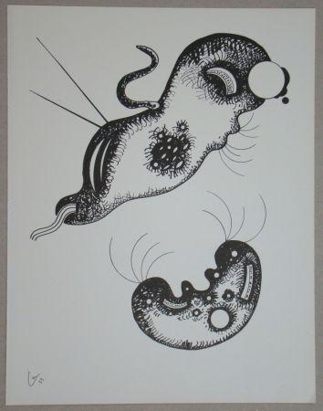 Litografia Kandinsky - Dessin à la plume, 1933