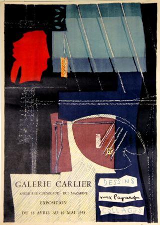 Litografia Papart - Dessins Collages  Galerie Carlier