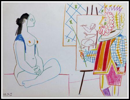 Litografia Picasso (After) - DESSINS DE VALLAURIS