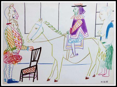 Litografia Picasso (After) - DESSINS DE VALLAURIS V