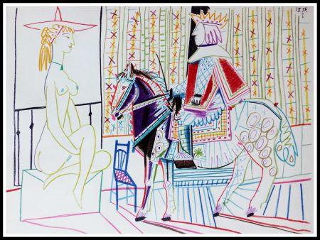 Litografia Picasso (After) - DESSINS DE VALLAURIS VI