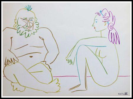Litografia Picasso (After) - DESSINS DE VALLAURIS VII