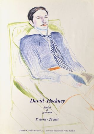 Non Tecnico Hockney -  Dessins et Gravures