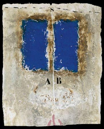 Carborundum Coignard - Deux bleus