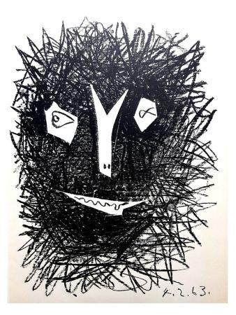 Litografia Picasso (After) - Deux Masques