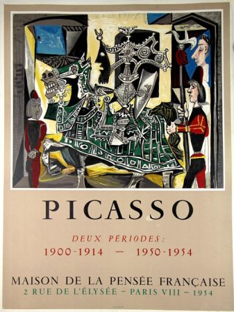 Litografia Picasso - Deux Periodes 1900-1914 , 1950-1954