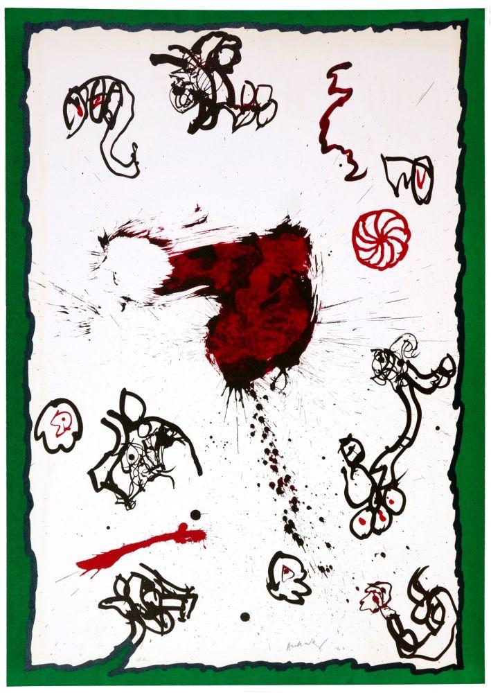 Litografia Alechinsky - Deuxième
