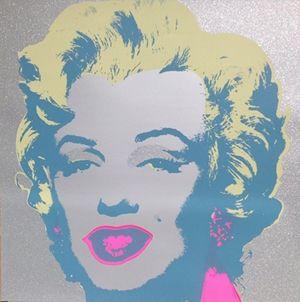 Serigrafia Warhol (After) - Diamond Marilyn (by Sunday B. Morning)