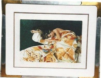 Serigrafia Hundertwasser - Die funfte Augenwaage