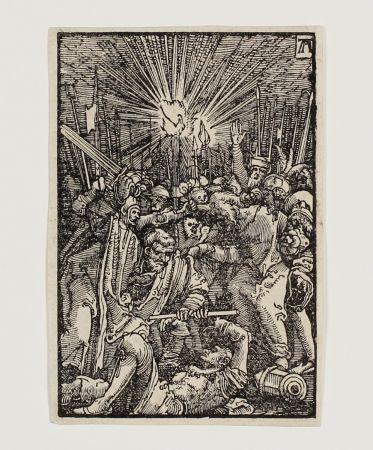 Incisione Su Legno Altdorfer - Die Gefangennahme Christi (The Betrayal)
