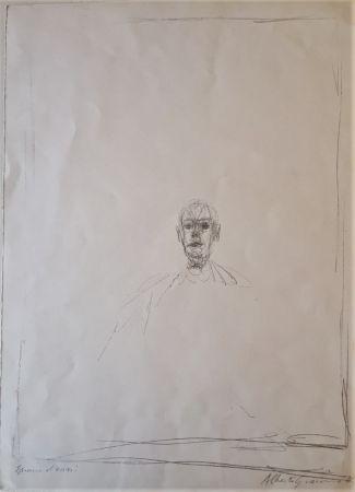Litografia Giacometti - Diego