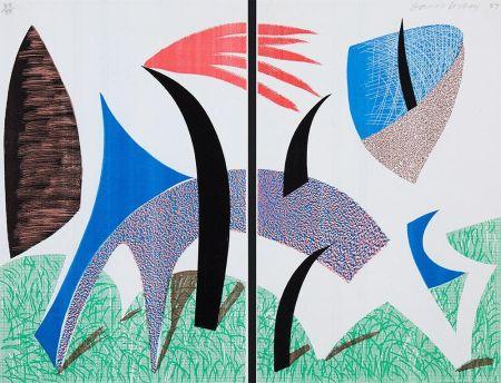 Non Tecnico Hockney - Diptychon