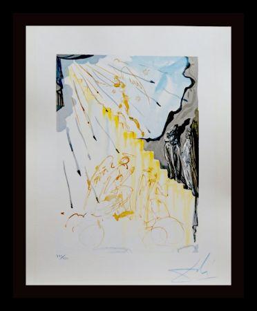 Incisione Su Legno Dali - Divine Comedy Heaven Canto 21
