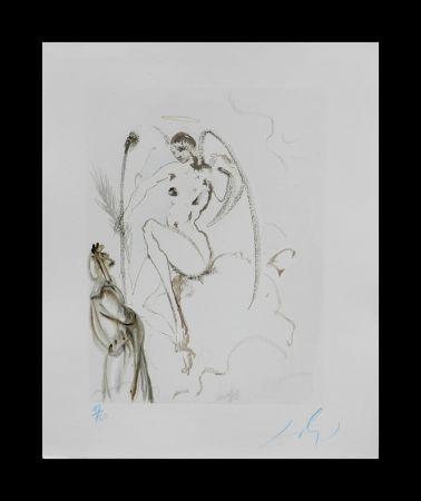 Incisione Su Legno Dali - Divine Comedy Heaven Canto 28