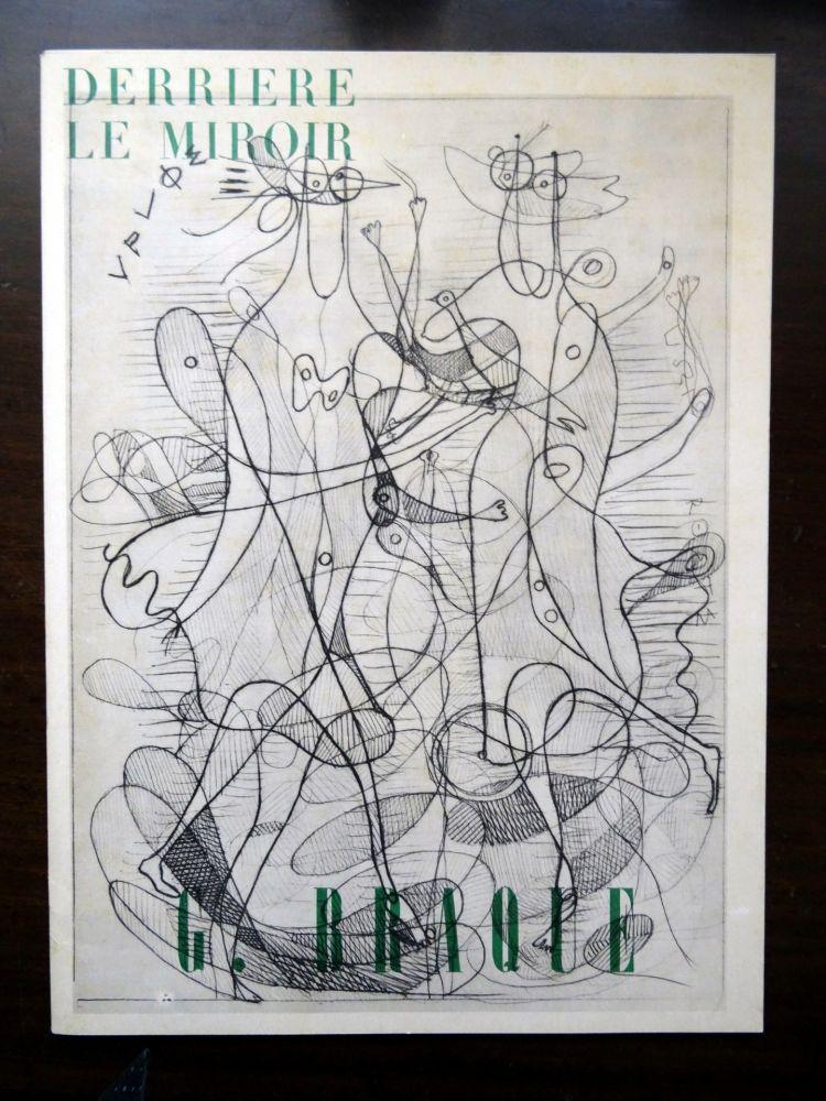 Libro Illustrato Braque - DLM - Derrière le miroir nº 71-72