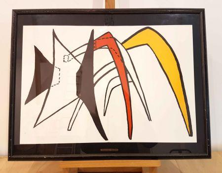 Litografia Calder - Dlm 141-2