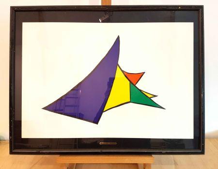 Litografia Calder - Dlm 141-4