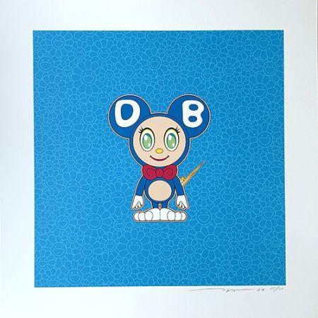 Litografia Murakami - DOB 2020 Light Blue