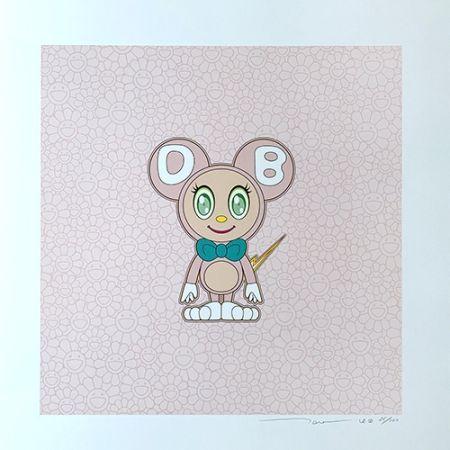 Litografia Murakami - DOB 2020 Light Pink