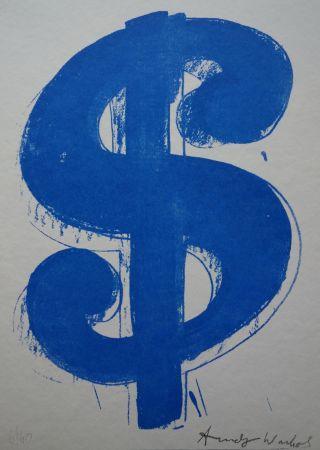 Serigrafia Warhol (After) - Dollar Sign