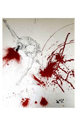 Litografia Dali - Don Quichotte