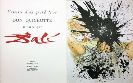 Libro Illustrato Dali - DON QUICHOTTE À LA TÊTE QUI ÉCLATE (1957). Histoire d'un grand livre.