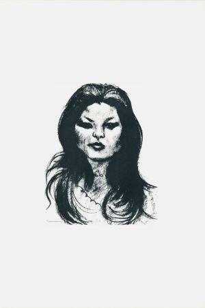 Litografia Messina - Donna