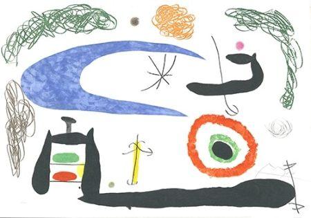 Acquaforte E Acquatinta Miró - Dormir sous la lune