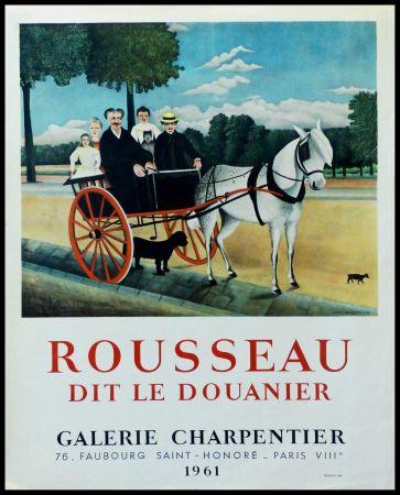 Manifesti Rousseau - DOUANIER ROUSSEAU GALERIE CHARPENTIER ROUSSEAU DIT LE DOUANIER