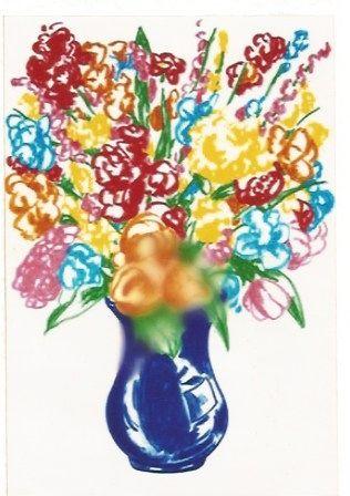 Litografia Koons - DOW-Flowers