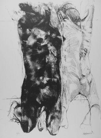 Litografia Vespignani - Due figure