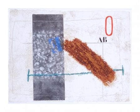 Incisione Coignard - Dynamique en brun