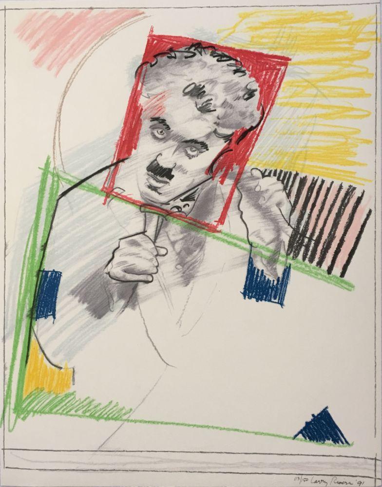 Serigrafia Rivers - Early Chaplin
