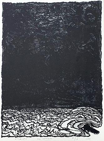 Litografia Alechinsky - Eau dormante