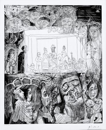 Acquatinta Picasso - Ecce Homo, d'Apres Picasso