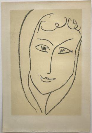 Litografia Matisse - Echos II