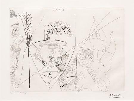 Incisione Picasso - Ecuyere de Cirque
