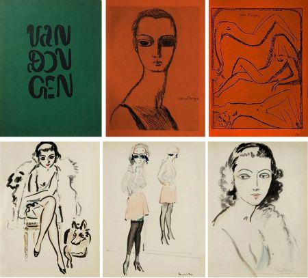 Libro Illustrato Van Dongen - Ed. Des Courières : VAN DONGEN (1925) Exemplaire sur Japon.