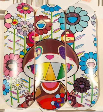 Serigrafia Murakami - Eden Skateboard Deck (Set of 3)